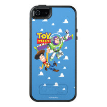 Toy Story 8Bit Woody and Buzz Lightyear OtterBox iPhone 5/5s/SE Case