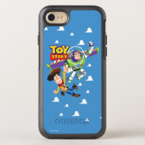 Toy Story 8Bit Woody and Buzz Lightyear OtterBox Symmetry iPhone SE/8/7 Case