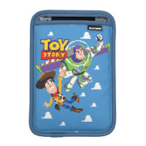 Toy Story 8Bit Woody and Buzz Lightyear Sleeve For iPad Mini
