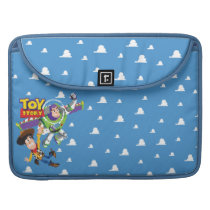 Toy Story 8Bit Woody and Buzz Lightyear Sleeve For MacBook Pro
