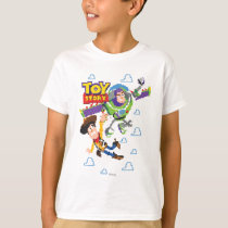 Toy Story 8Bit Woody and Buzz Lightyear T-Shirt