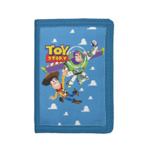 Toy Story 8Bit Woody and Buzz Lightyear Trifold Wallet