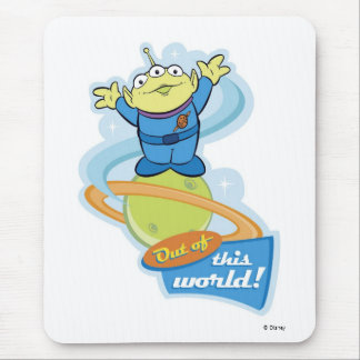 """Toy Story Alien """"Out of This World"""" Mouse Pad"""