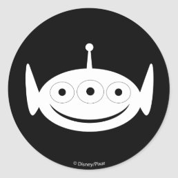 Toy Story | Alien Pattern Classic Round Sticker
