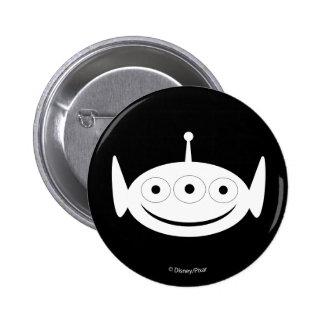Toy Story   Alien Pattern Pinback Button