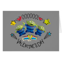 Toy Story - Aliens | Valentine's Day Card