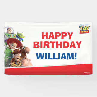 Toy Story Birthday Banner