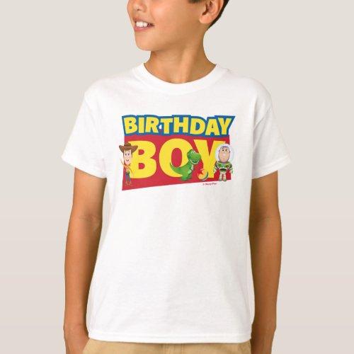 Toy Story  Birthday Boy _ Name  Age T_Shirt