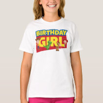 Toy Story | Birthday Girl - Name & Age T-Shirt