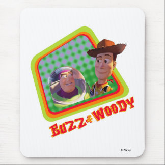 Toy Story Buzz and Woody Friends design Mouse Pad