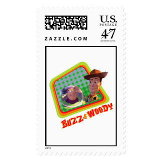 Toy Story Buzz and Woody Friends design Postage