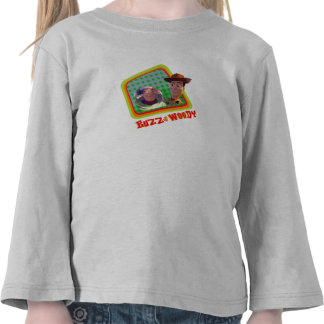 Toy Story Buzz and Woody Friends design Tee Shirt