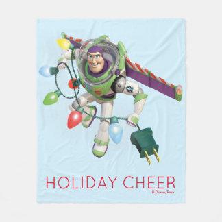 Toy Story   Buzz Lightyear Decorating Christmas Fleece Blanket
