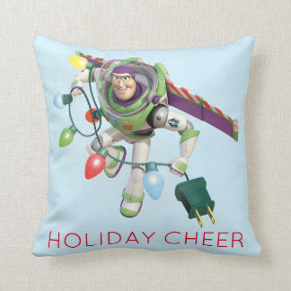 Toy Story | Buzz Lightyear Decorating Christmas Throw Pillow