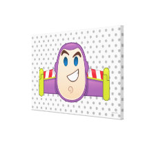 Toy Story | Buzz Lightyear Emoji Canvas Print