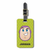 Toy Story | Buzz Lightyear Emoji Luggage Tag