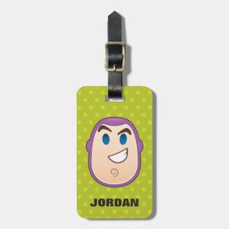 Toy Story | Buzz Lightyear Emoji Luggage Tag