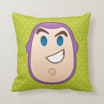 Toy Story | Buzz Lightyear Emoji Throw Pillow
