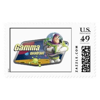 Toy Story Buzz Lightyear Gamma Quadrant logo Stamp