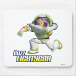 Toy Story Buzz Lightyear Preparing to Fire Mouse Pad