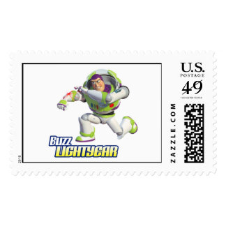 Toy Story Buzz Lightyear Preparing to Fire Stamp
