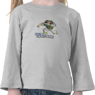 Toy Story Buzz Lightyear Preparing to Fire Tee Shirts