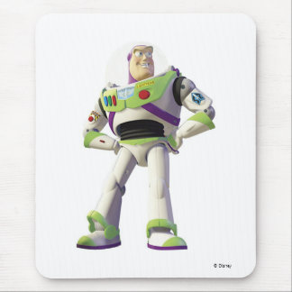 Toy Story Buzz Lightyear standing hands on hips Mouse Pad