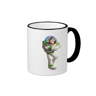 Toy Story Buzz Lightyear standing with folded arms Ringer Mug