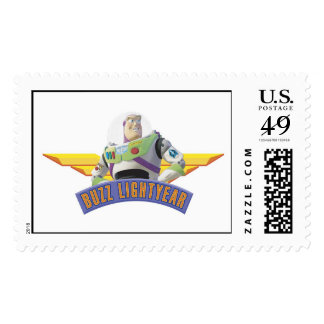 Toy Story Buzz Lightyear wings button pin Postage Stamp