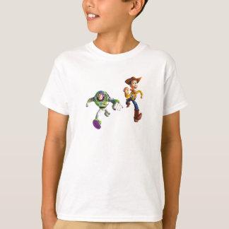 Toy Story Buzz Lightyear Woody running T-Shirt