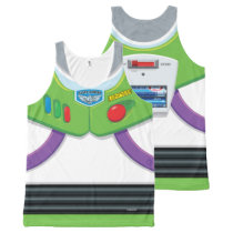 Toy Story | Buzz Lightyear's Space Ranger Suit All-Over-Print Tank Top