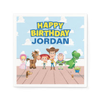 Toy Story Character Birthday Napkins