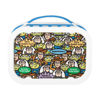 Toy Story | Cute Toy Pattern Lunch Box