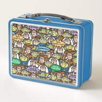 Toy Story | Cute Toy Pattern Metal Lunch Box