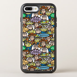 Toy Story | Cute Toy Pattern OtterBox Symmetry iPhone 7 Plus Case
