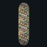 "Toy Story | Cute Toy Pattern Skateboard<br><div class=""desc"">From now on,  we stick together.  This Toy Story pattern features all your favorite Toy Story characters; Woody,  Buzz Lightyear and the Aliens.</div>"
