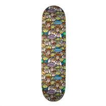 Toy Story | Cute Toy Pattern Skateboard