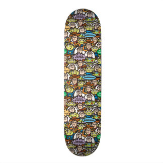 Toy Story | Cute Toy Pattern Skateboard