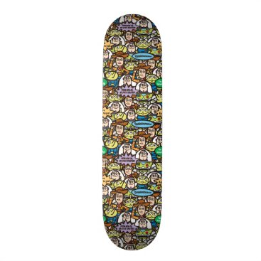 Disney Themed Toy Story | Cute Toy Pattern Skateboard