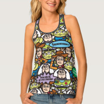Toy Story | Cute Toy Pattern Tank Top