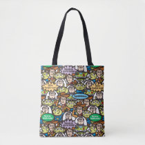 Toy Story | Cute Toy Pattern Tote Bag