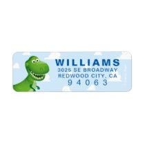 Toy Story | Dinosaur Rex Birthday Label