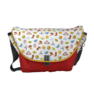 Toy Story Emoji Pattern Courier Bag