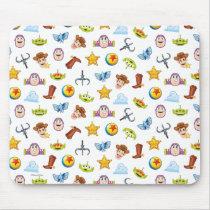 Toy Story Emoji Pattern Mouse Pad