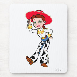 Toy Story Jesse cowgirl standing greeting Mouse Pad