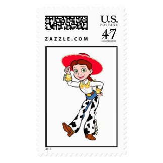 Toy Story Jesse cowgirl standing greeting Postage