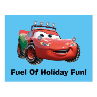 Toy Story | Lightning McQueen Looking Good Postcard