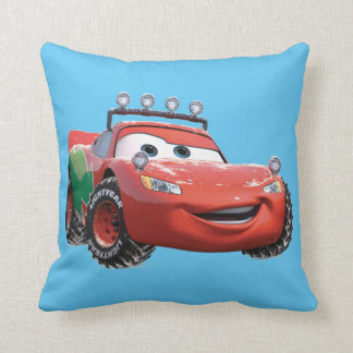 Toy Story | Lightning McQueen Looking Good Throw Pillow