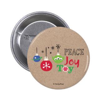 Toy Story   Peace Joy Toy Button