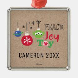 Premium Square Ornament with Disney Christmas Ornaments design